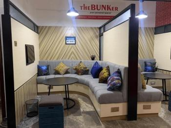 The BUNKer Co-working space Orange Cabin
