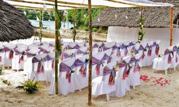 Mnarani Club Beach Wedding Venue