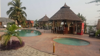Hotel Bon Voyage pool Area